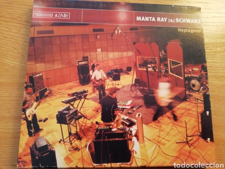 MANTA RAY & SCHWARZ. HEPTÁGONO. ASTRO DISCOS A-059. SPAIN, 2001. (Música - CD's Rock)