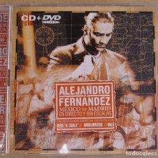 CDs de Música: ALEJANDRO FERNANDEZ - MEXICO-MADRID, EN DIRECTO Y SIN ESCALAS (CD+DVD) 2005 - . Lote 160190682