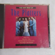 CDs de Música: THE VERY BEST OF THE PLATTERS . Lote 160197254