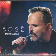 CDs de Música: MIGUEL BOSE - UNPLUGGED - MTV - DOBLE CD DE 2016 RF-1385 , PRECINTADO. Lote 160204014