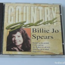 CDs de Música: BILLIE JO SPEARS  COUNTRY GOLD CD. Lote 160229078