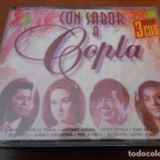 CDs de Música: 3 CD -CON SABOR A COPLA. Lote 160258586