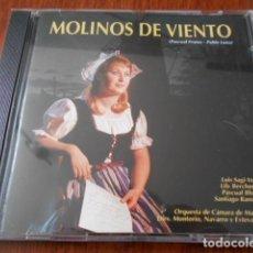CDs de Música: ZAFIRO CD-MOLINOS DE VIENTO PASCUAL FRUTOS-PABLO LUNA. Lote 160265730