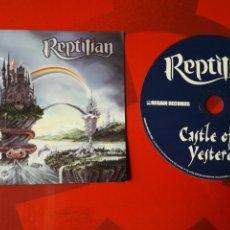 CDs de Música: REPTILIAN - CD CASTLE OF YESTERDAY (HARD ROCK, HEAVY METAL) 2001. Lote 160269110