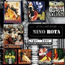 CDs de Musique: NINO ROTA COLLECTOR 1911-2011 MÚSICA COMPUESTA POR NINO ROTA. Lote 191463192
