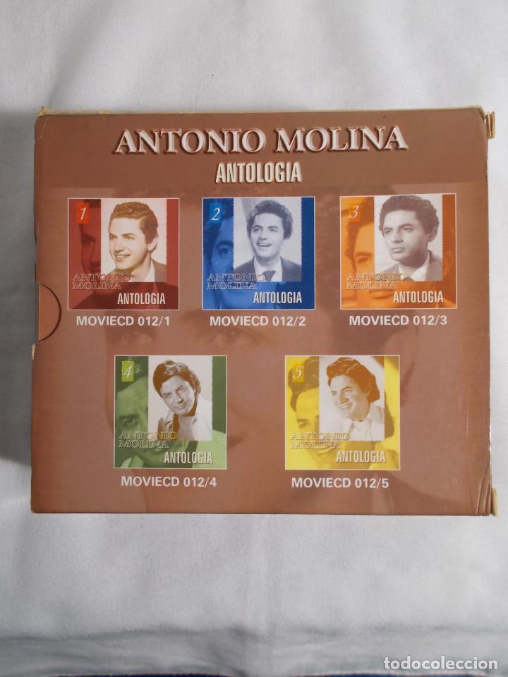 CDs de Música: ANTONIO MOLINA - ANTOLOGIA 5 CDS - Foto 4 - 160291058