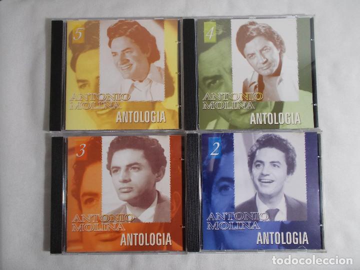 CDs de Música: ANTONIO MOLINA - ANTOLOGIA 5 CDS - Foto 5 - 160291058
