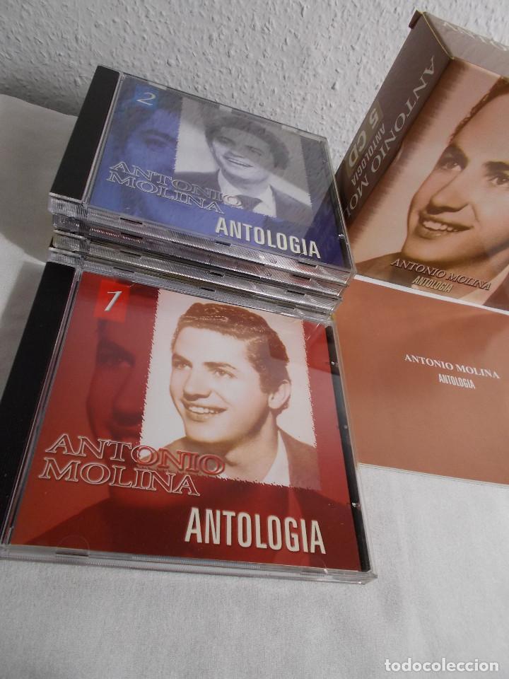 CDs de Música: ANTONIO MOLINA - ANTOLOGIA 5 CDS - Foto 8 - 160291058