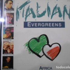 CDs de Música: CD AFRICA-ITALIAN EVERGREENS. Lote 160295822