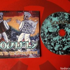CDs de Música: SOULFLY - CD SINGLE PROMOCIONAL BACK TO THE PRIMITIVE (HEAVY METAL HIP HOP HARDCORE). Lote 160296305