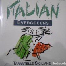 CDs de Música: CD TARANTELLE SICILIANE-ITALIAN EVERGREENS. Lote 160296562