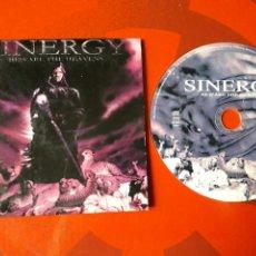 CDs de Música: SINERGY - CD PROMOCIONAL BEWARE THE HEAVENS (HEAVY SPEED METAL 1999). Lote 160297458