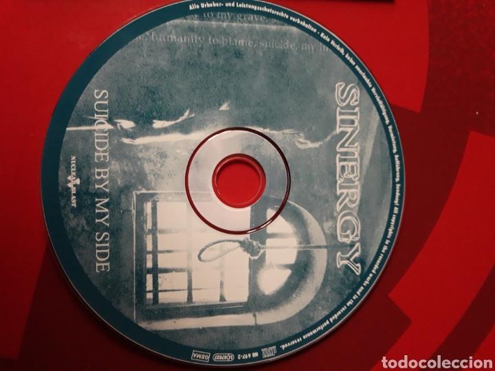 CDs de Música: Sinergy - CD promocional Suicide By My Side (Heavy Power Metal 2001) - Foto 3 - 160297972