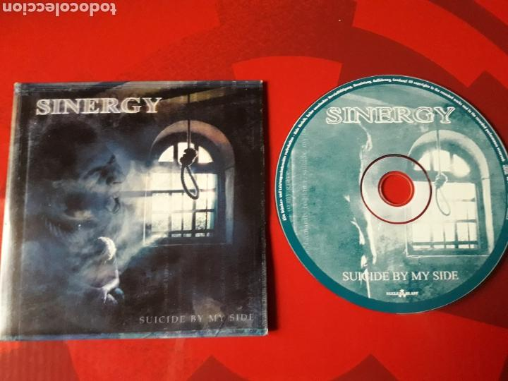 SINERGY - CD PROMOCIONAL SUICIDE BY MY SIDE (HEAVY POWER METAL 2001) (Música - CD's Heavy Metal)
