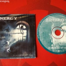 CDs de Música: SINERGY - CD PROMOCIONAL SUICIDE BY MY SIDE (HEAVY POWER METAL 2001). Lote 160297972