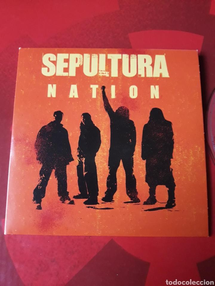 CDs de Música: Sepultura - CD promocional Nation (Heavy metal Hardcore) - Foto 2 - 160303004