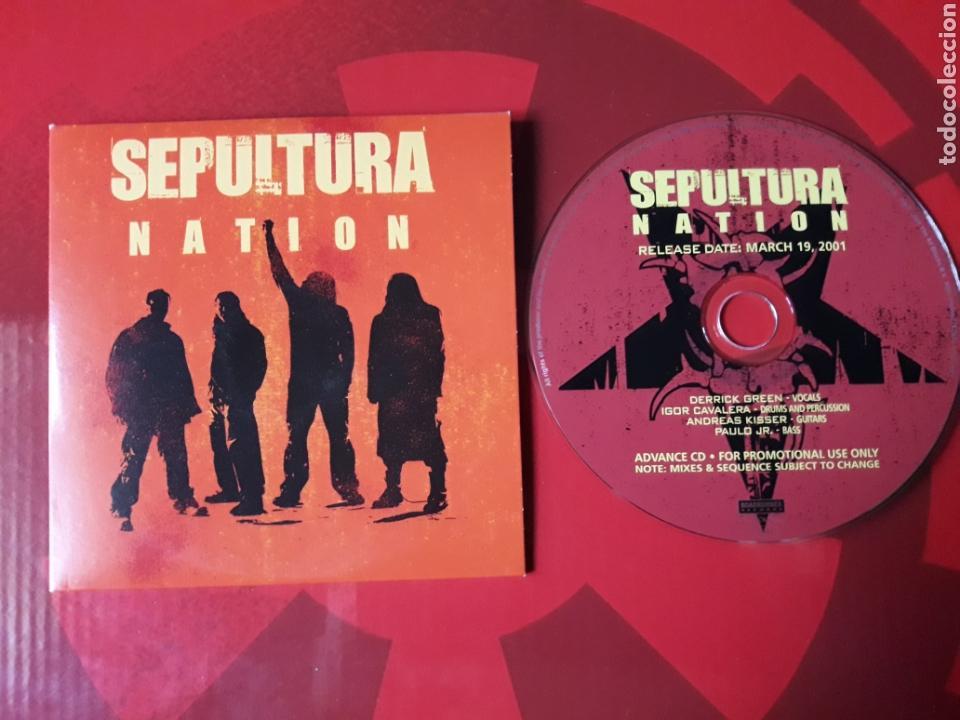 SEPULTURA - CD PROMOCIONAL NATION (HEAVY METAL HARDCORE) (Música - CD's Heavy Metal)