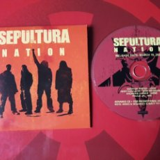 CDs de Música: SEPULTURA - CD PROMOCIONAL NATION (HEAVY METAL HARDCORE). Lote 160303004
