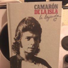 CDs de Música: CAMARON DE LA ISLA-LA LEYENDA-4 CD IMITANDO VINILOS LIBRO 48 PAG-2004-MUY RARO Y DIFICIL-JOYA. Lote 160311620