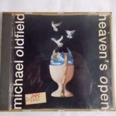 CDs de Música: MICHAEL OLDFIELD - HEAVEN`S OPEN - 1991 VIRGIN RECORDS LTD. Lote 160312378