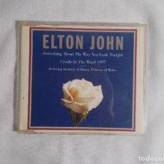 CDs de Música: ELTON JOHN - IN LOVING MEMORY OF DIANA. PRINCESS OF WALES. Lote 160314982