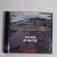 CDs de Música: FUXAN OS VENTOS - NA MEMORIA DOS TEMPOS - EDICIÓN LA VOZ DE GALICIA. Lote 160315050