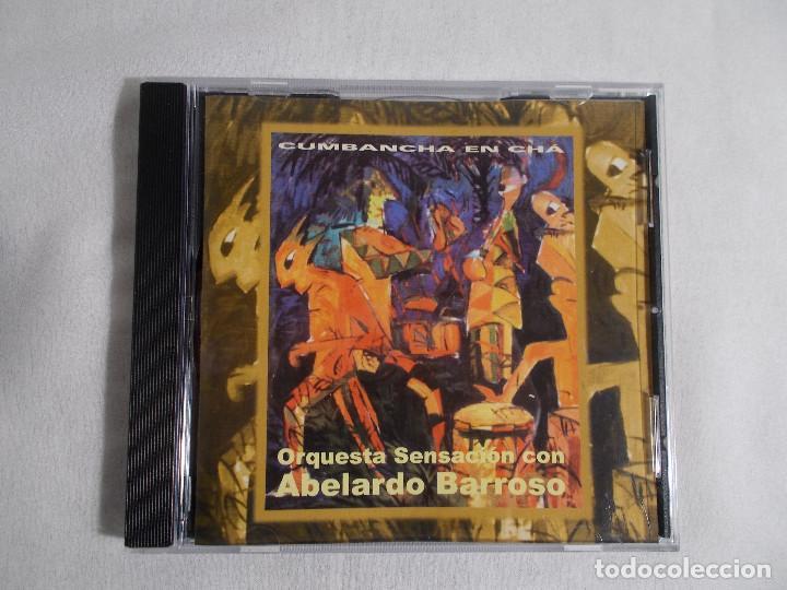 ORQUESTA SENSACIÓN CON ABELARDO BARROSO - CUMBANCHA EN CHÁ (Música - CD's Latina)