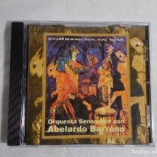 CDs de Música: ORQUESTA SENSACIÓN CON ABELARDO BARROSO - CUMBANCHA EN CHÁ. Lote 160315078