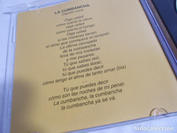 CDs de Música: ORQUESTA SENSACIÓN CON ABELARDO BARROSO - CUMBANCHA EN CHÁ - Foto 5 - 160315078