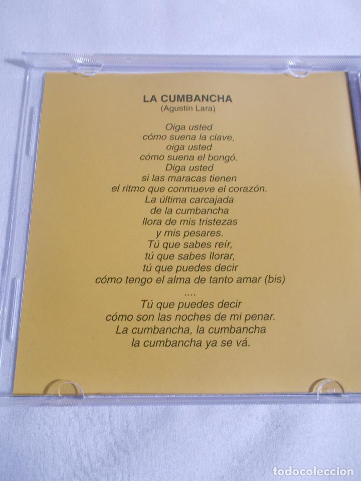 CDs de Música: ORQUESTA SENSACIÓN CON ABELARDO BARROSO - CUMBANCHA EN CHÁ - Foto 7 - 160315078
