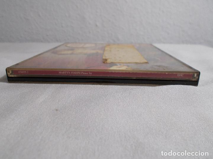 CDs de Música: MARTYN JOSEPH - PLEASE SIR - CD PROMOCIONAL 1992 - Foto 3 - 160315106