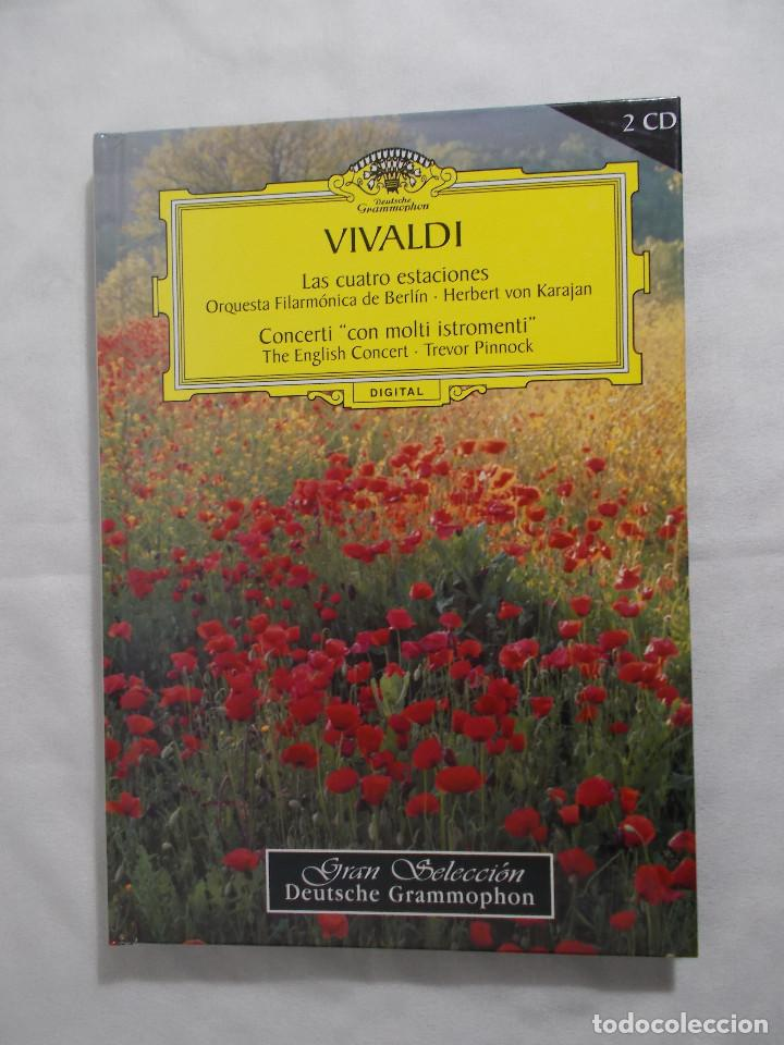 VIVALDI LAS CUATRO ESTACIONES - 2005 RBA COLECCIONABLES, S.A. (Música - CD's Clásica, Ópera, Zarzuela y Marchas)