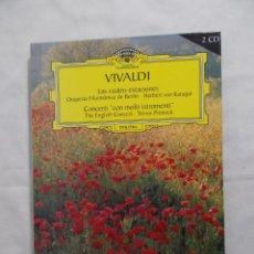 CDs de Música: VIVALDI LAS CUATRO ESTACIONES - 2005 RBA COLECCIONABLES, S.A.. Lote 160316634