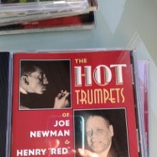 CDs de Música: JOE NEWMAN, HENRY RED ALLEN ‎– THE HOT TRUMPETS OF JOE NEWMAN & HENRY RED ALLEN. Lote 160317882
