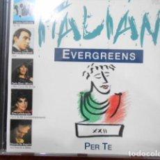CDs de Música: CD PER TE ITALIAN EVERGREENS. Lote 160323762
