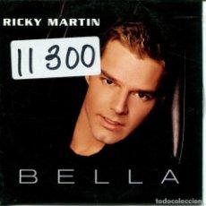 CDs de Música: RICKY MARTIN / BELLA (CD SINGLE CARTON PROMO 1999). Lote 160327402
