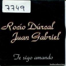 CDs de Música - ROCIO DRUCAL CON JUAN GABRIEL / TE SIGO AMANDO (CD SINGLE CARTON PROMO 1997) - 160328806