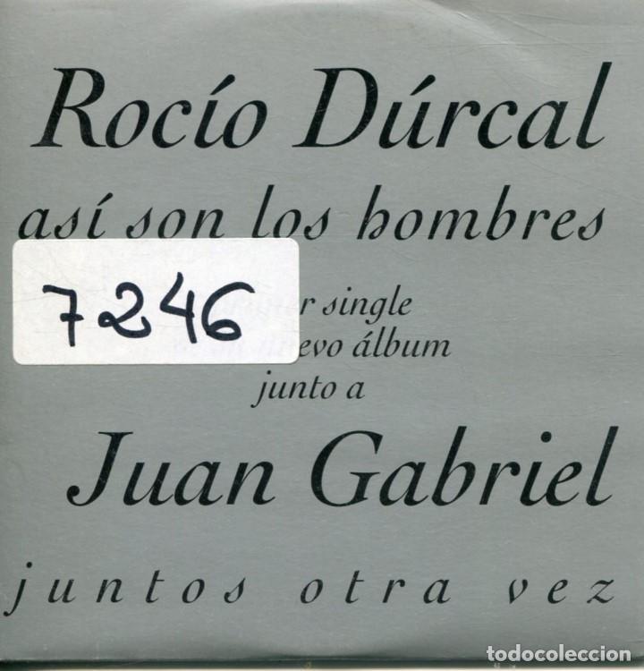ROCIO DRUCAL Y JUAN GABRIEL / ASI SON LOS HOMBRES(CD SINGLE CARTON PROMO 1997) (Música - CD's Latina)