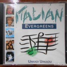 CDs de Música: CD UAKADI UAKADI ITALIAN EVERGREENS. Lote 160329674