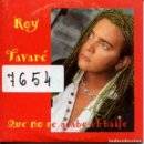 CDs de Música: ROY TAVARE / QUE NO SE ACABE EL BAILE (CD SINGLE CARTON PROMO 1997). Lote 160331514