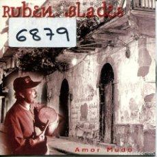 CDs de Música: RUBEN BLADES / AMOR MUDO (CD SINGLE CARTON PROMO 1997). Lote 160332046