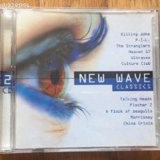 CDs de Música: NEW WAVE CLASSICS 2 CDS. Lote 160334934
