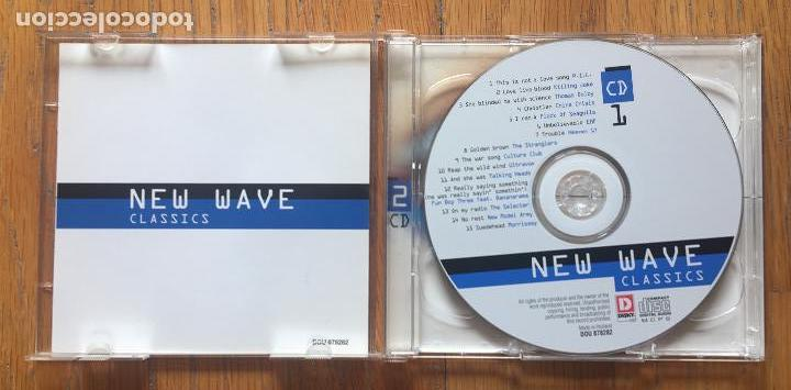 CDs de Música: NEW WAVE Classics 2 cds - Foto 2 - 160334934