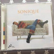 CDs de Música: SONIQUE, HEAR MY CRY. Lote 160343306