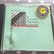 CDs de Música: ORCHESTRAL MANCUVRES IN THE DARK, ARQUITECTURE & MORALITY. Lote 160351266