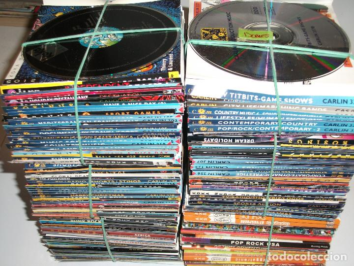 LOTE MÁS DE 170 CD, CARLIN, BURNING PETALS, AXS, WEST ONE, KOSINUS, MUESTRAS DE SONIDOS, ERCOM (Música - CD's Otros Estilos)