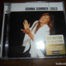 CDs de Música: DONNA SUMMER. GOLD. UNIVERSAL, 2005. 2 CD´S. IMPECABLE (#). Lote 160376558