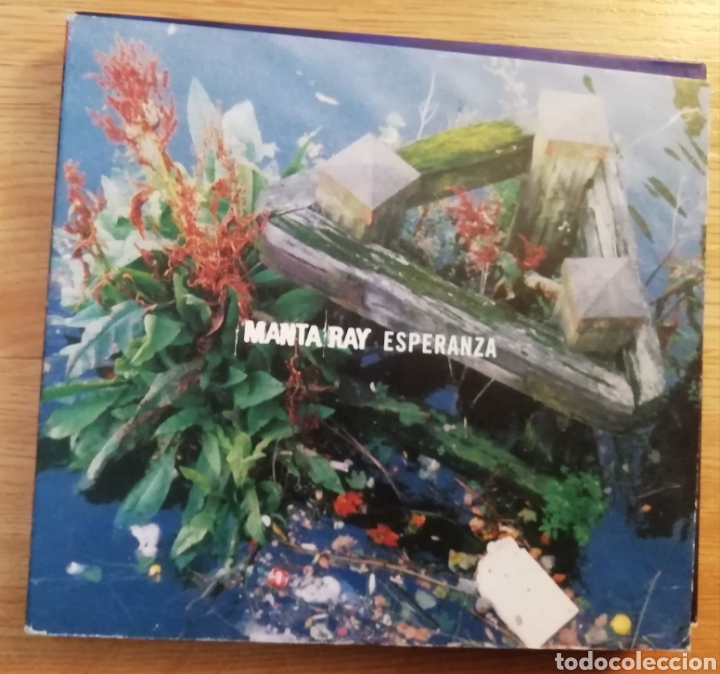 MANTA RAY. ESPERANZA.CD + SINGLE ED. LIMITADA. ASTRO DISCOS A-038. SPAIN, FEB 2000. (Música - CD's Rock)