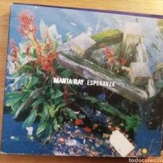 CDs de Música: MANTA RAY. ESPERANZA.CD + SINGLE ED. LIMITADA. ASTRO DISCOS A-038. SPAIN, FEB 2000.. Lote 160390994