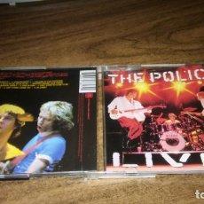 CDs de Música: THE POLICE - LIVE (2CD). Lote 160393046